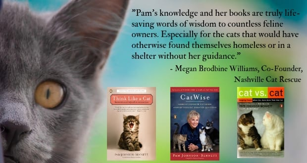 nashville cat rescue quote about Pam's books