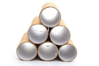 cardboard toilet roll inserts