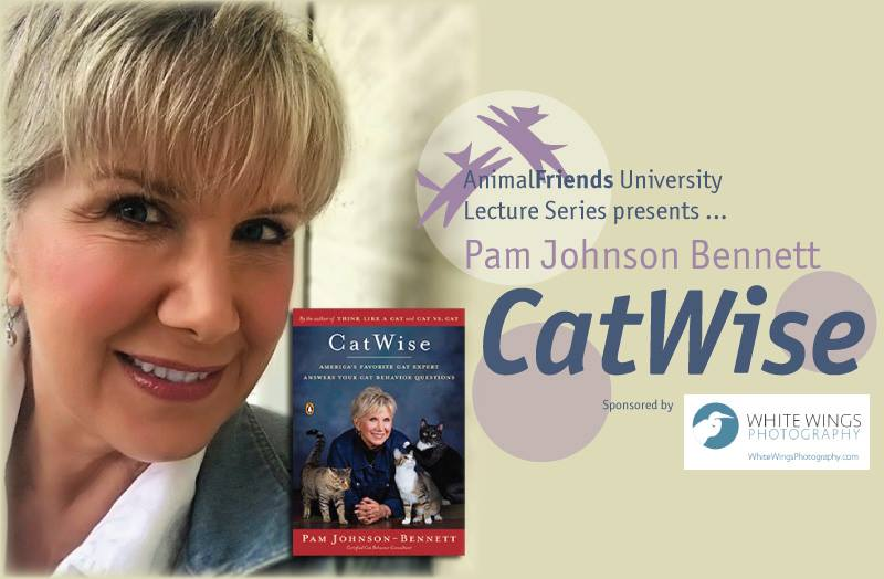 Animal Friends University Lecture Series presents Pam Johnson-Bennett