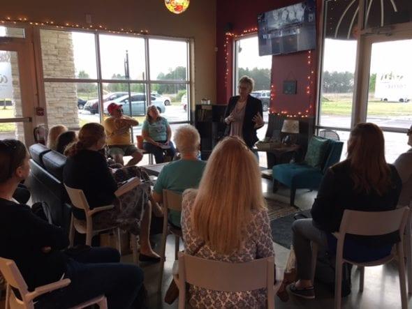 speaking at Orlando Cat Cafe